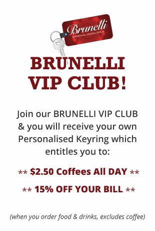 Cafe Brunelli VIP Club